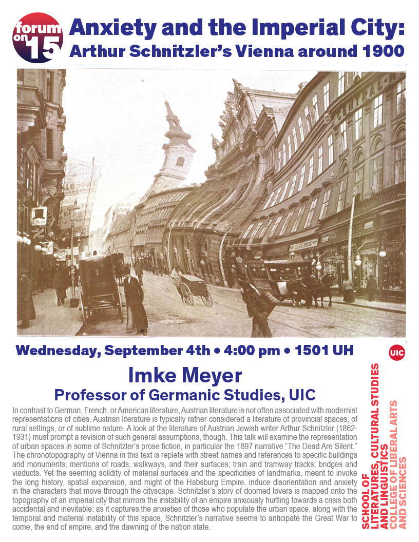 flyer for Meyer talk