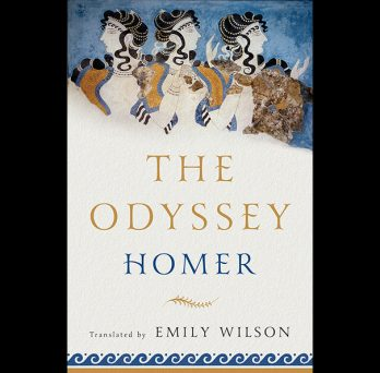 cover of Emily Wilson's translation of The Odyssey